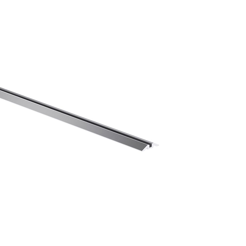 Laufschiene für untenlaufende Schiebetür, aufgesetzt 1-läufig 00010010101